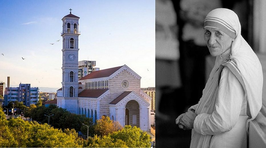 Cathedral dedicated to Mother Teresa