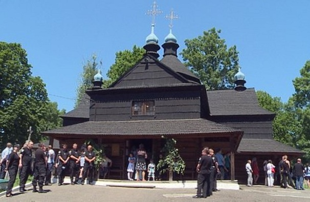 church in Kolomyia