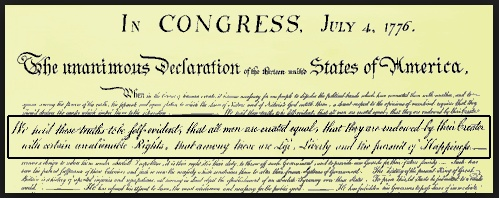 The Declaration Of Independence Essay By Thomas Jefferson