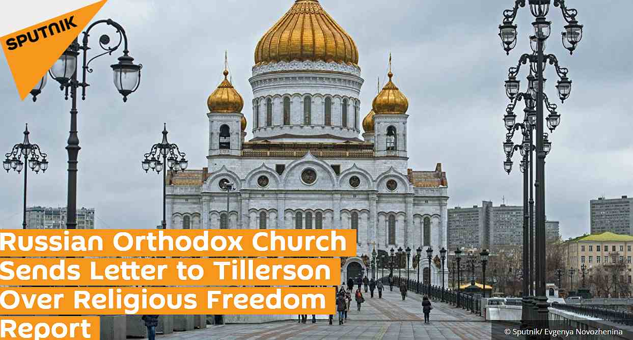 (Orthodox church sends letter about religious freedom report)