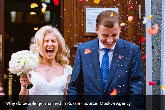 Why do people get married in Russia?
